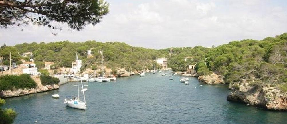 Eine mediterrane Küstenregion